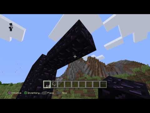 3 different ways to make a nether portal