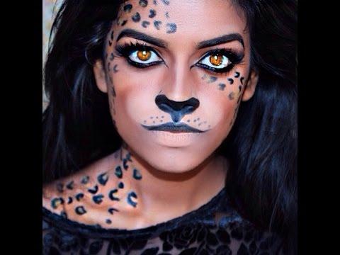 Leopard Halloween Tutorial