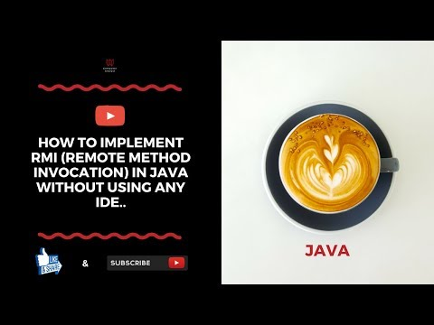 How To Implement RMI (Remote Method Invocation) In Java Without Using Any IDE..