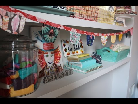 How to sew a fabric bunting by Sewspire