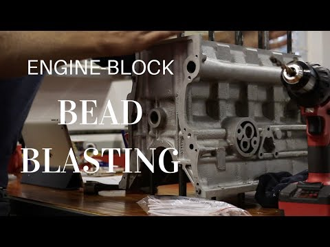 FOR THE ROAD 5: Bead-blasting an engine block and cleaning up the oil-ways
