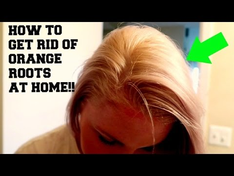 HOW TO GET RID OF ORANGE ROOTS WITH WELLA 050 | full demo