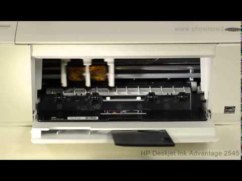 HP Deskjet Ink Advantage 2545 - Installing Ink Cartridges