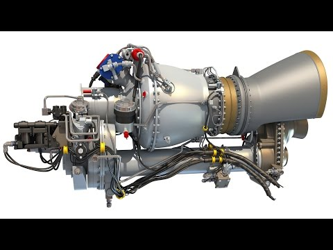 3D Turboshaft Helicopter Engine for Military and Civil Helicopters