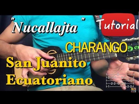 Nucallajta - San Juanito Ecuatoriano Tutorial/Cover Charango/Guitarra