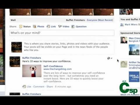 How to Share Links on Your Facebook Business Page