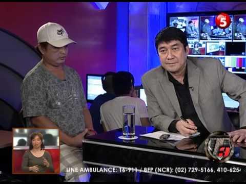 NEWS5E | T3: WALK-IN BONG TOLENTINO | MAY 16 2013