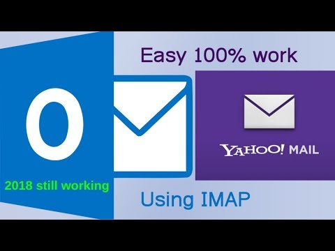 How to configure Yahoo mail in Outlook 2016 using IMAP 100% work