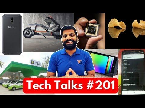 Tech Talks #201 - J7 (2017), Apple AI, Cloth Charger, Moto G5S Plus, BMW Concept Bike, 3D Pasta
