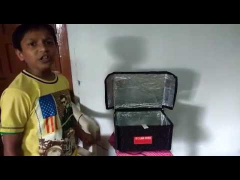 Solar cooker ,grade 4,