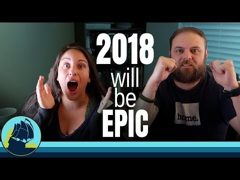 HAPPY NEW YEAR! we look back at 2017 & forward to an EPIC 2018!