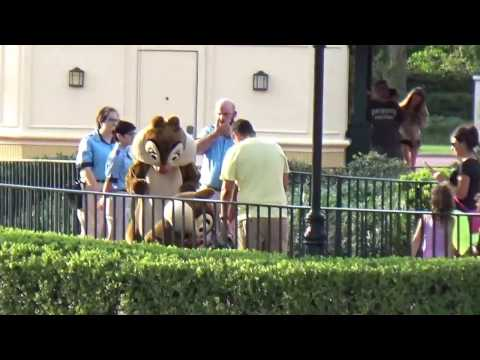Meet Chip and Dale at International Gateway, Epcot