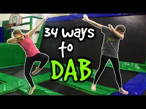 34 ways to DAB on a TRAMPOLINE!