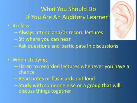 Learning Styles - How Do I Use Them To Do Better In Nursing School?