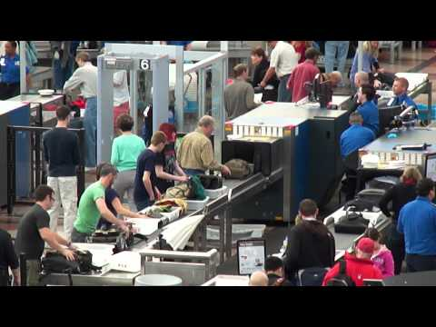 Security - March 2012 - Denver Airport - Colorado - USA