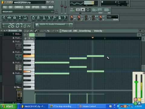 fruity loops 9 hard piano beat