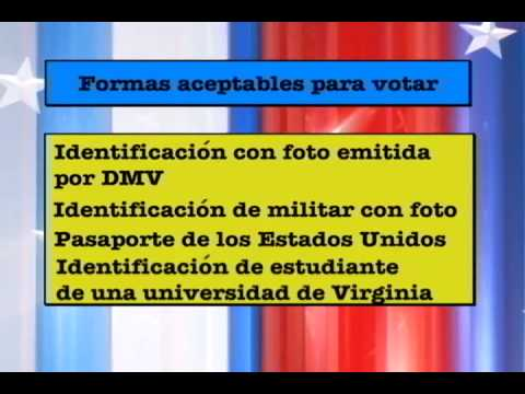 [SPANISH] Virginia Voter Photo ID Requirements