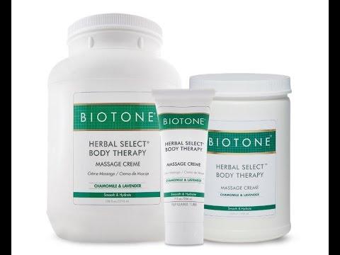 Biotone Herbal Select Body Therapy Massage Creme | Bodyworkmall