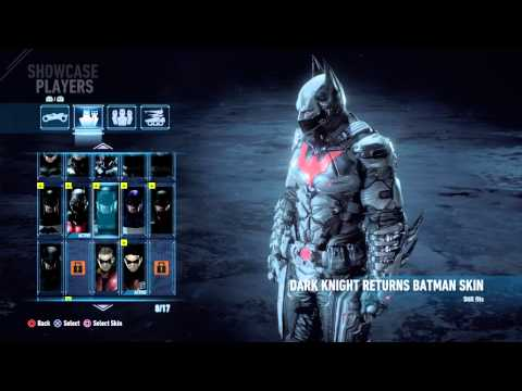 Batman Arkham Knight All Bat Suits Dlc Unlocked Batman Beyond