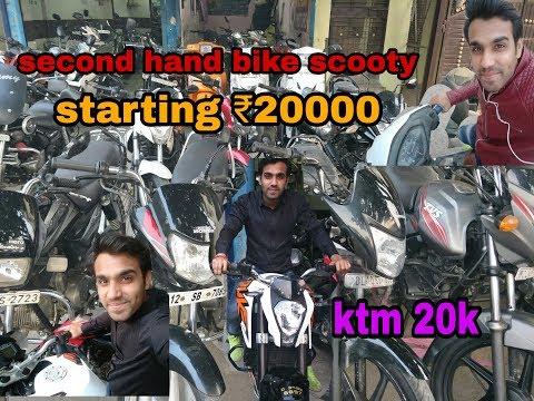Scooty and bike Market In Delhi | Scooty in Cheap Price| दिल्ली की सबसे सस्ती स्कूटी मार्केट