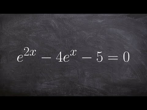 How to solve exponential equation by factoring