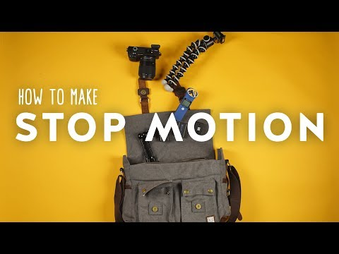 How to Shoot and Edit Stop Motion