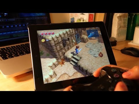 Controllers for All: iPad Gameplay with PS3 or PS4 Controller