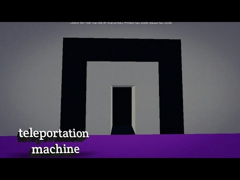 How to make a teleportation machine in minecraft (pc/Xbox/PS3/pocket)