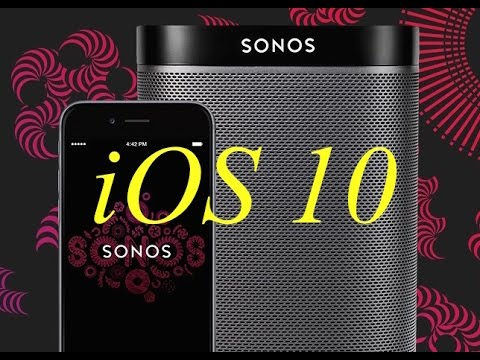 How to stream any audio (YouTube etc.) from an iPhone to Sonos speakers using AirPlay (iOS 10)