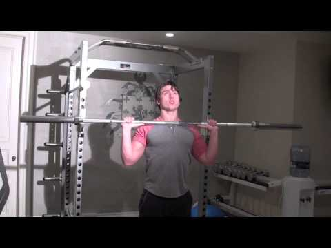 Overhead Press - Best Shoulder Exercise (Tutorial)