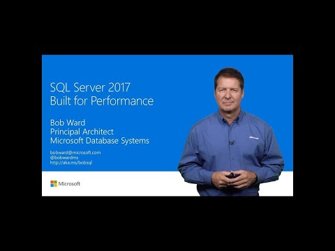 SQL Server 2017: Built for performance | T155