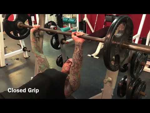 Open Grip Tip for Bench Press