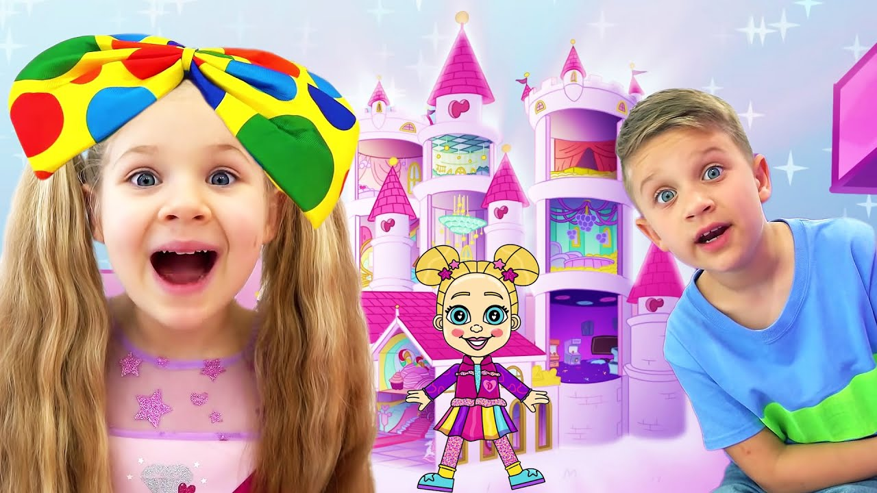 Diana and Roma Magic Super Hero Doll Best cartoons compilation for kids
