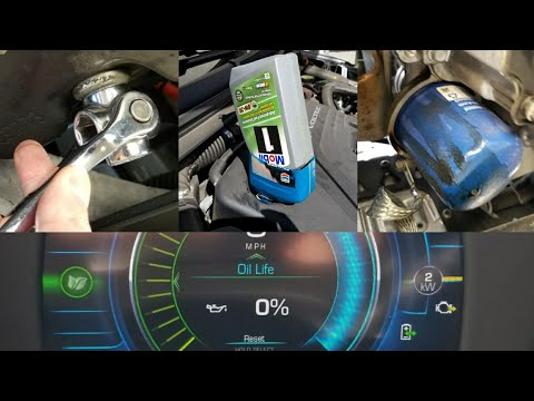 DIY: 2016-2018 Chevy Volt Oil Change @ 41,500 miles! - oil, filters, gaskets, tools!