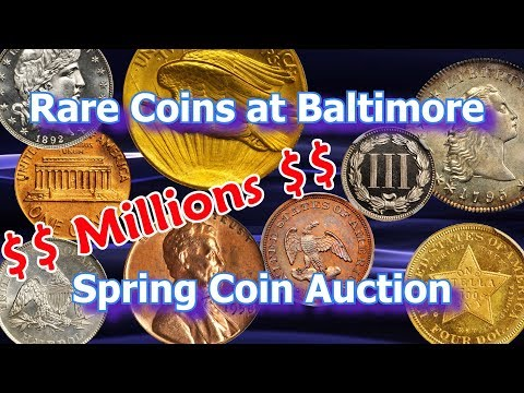 Rare Coins Worth Millions Sold at Baltimore Coin Auction