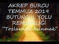 Download  AKREP BURCU TEMMUZ 2019 BÜTÜNCÜL (HOLİSTİK) RUH YOLU REHBERLİĞİ♏💗 MP3,3GP,MP4