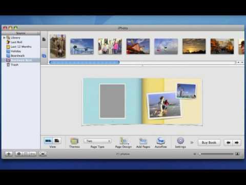 Apple iLife '06 Multimedia Tutorials Further Customize Your iPhoto Book