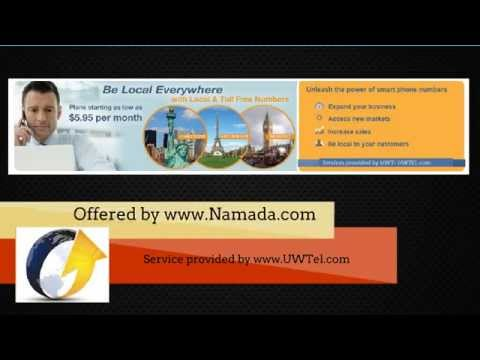 How to get global call forwarding phone numbers