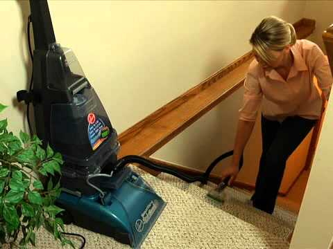Hoover SteamVac Cleaning Upholstery & Carpeted Stairs F5915900