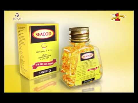 SEACOD India's No.1 Cod Liver Oil Brand