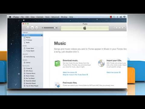 iTunes® Media Folder - Finding and Moving the iTunes® Files on Mac® OS X™