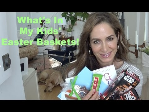 What's In My Kids' Easter Baskets 2017!