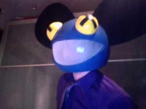 Blue Deadmau5 Head - Bluemau5