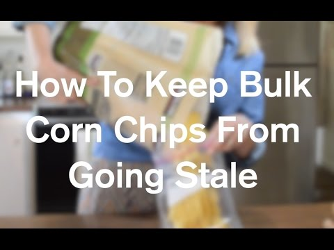 How To Keep Bulk Corn Chips From Going Stale - AnOregonCottage.com