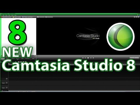 Camtasia Studio 8 Screen Recorder-Tutorial & Overview!