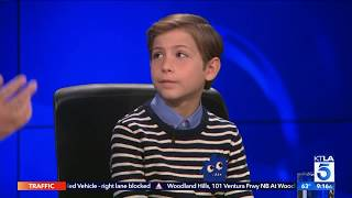 """Jacob Tremblay Reveals Why he Pursued his Part in """"Wonder"""""""