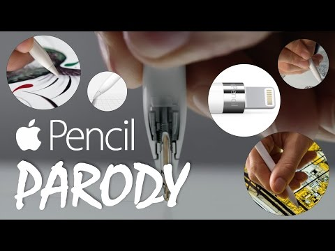 Apple Pencil Parody
