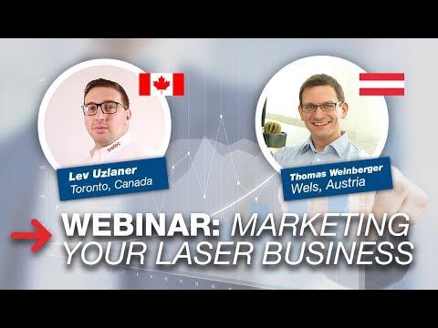 WEBINAR - Marketing Your Laser Business Online (Basics)