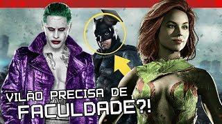 ATÉ PRA SER VILÃO DO BATMAN PRECISA DE ENSINO SUPERIOR