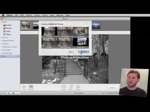 Exporting iPhoto Slideshows as Video (MacMost Now 319)